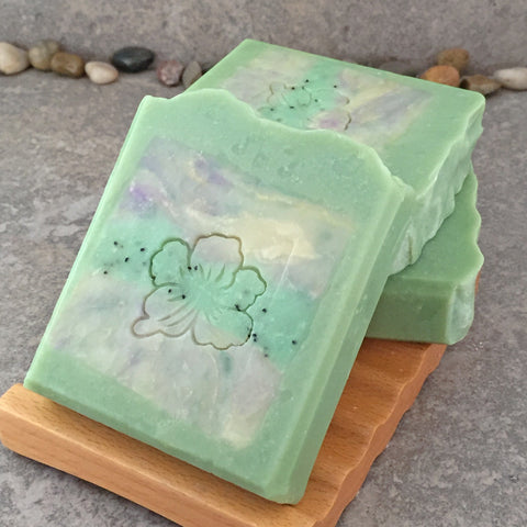 Bamboo Sweetgrass Scented Decoarative Artisan Soap