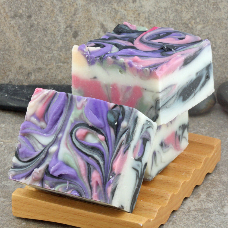Sage and Citrus Handcrafted Colorful Artisan Soap