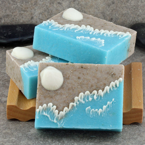 Handcrafted Decorative Soap - A Day at the Beach, Surf and Shore