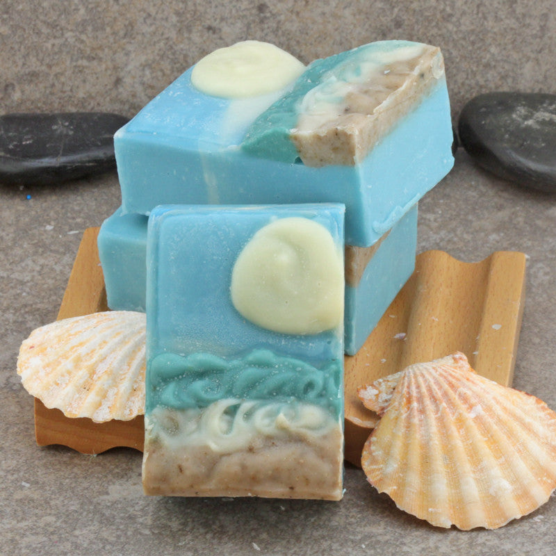 Beach Sunrise - Decorative 3D Artisan Soap in a Coconut Lime Verbena Fragrance