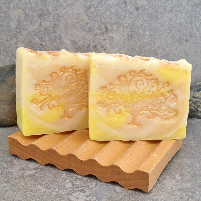 Citrus Sunshine Cold Process Decorative Bar Soap