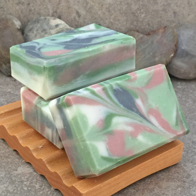 Sage and Lemon Scented Handcrafted Artisan Soap