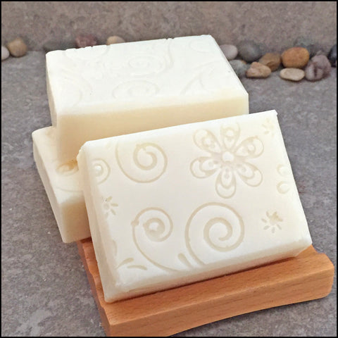 Decorative Sunflower Botanical Infused Oil Soap - no added color or fragrance