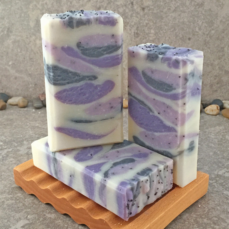 Lavender Scented Handcrafted Soap Bar with Lavender Essential Oil