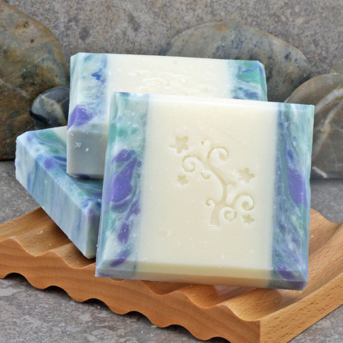 Waterlily, Jasmine and Yuzu Scented Handcrafted Artisan Soap