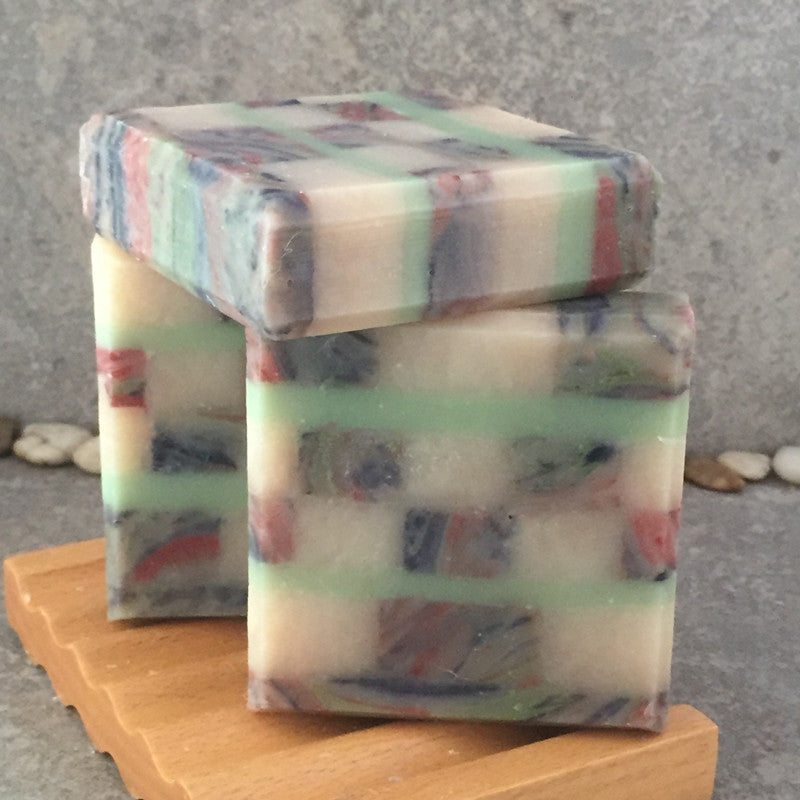 Mosaic Soap Scented in an Apples and Oak Fragrance