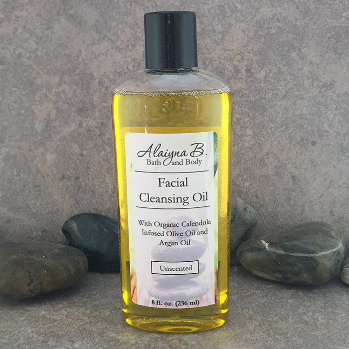 Deep Cleansing Facial Oil - Olive and Argan Oil 8 ounces