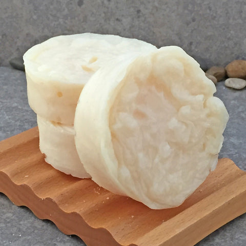 Argan and Babassu Oil Shampoo Bar with an Apricot Freesia Scent - Sulfate Free Hair Care