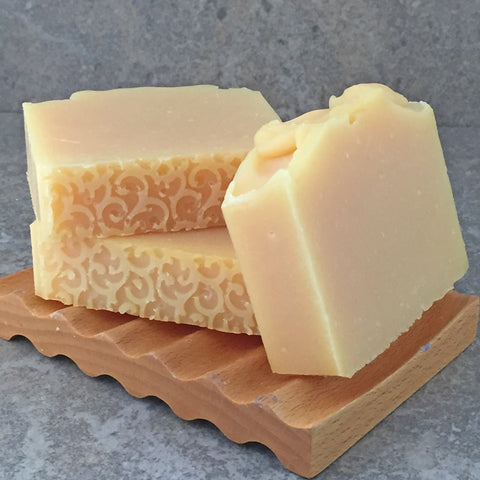 Conditioning Shampoo Bar with Argan and Babassu Oil in a Grapefruit Hibiscus Scent - Sulfate Free Hair Care