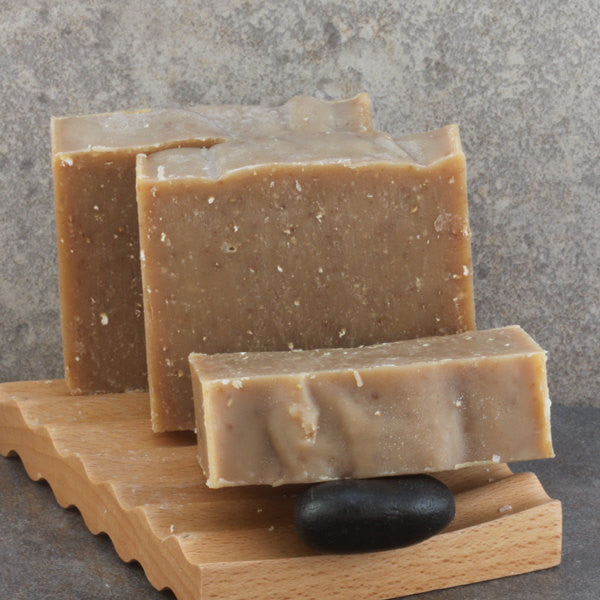 Oatmeal Honey Dark Stout Beer Soap Handcrafted Cold Process