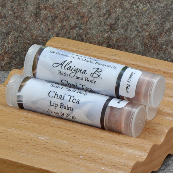 Chai Tea Lip Balm with Shea Butter