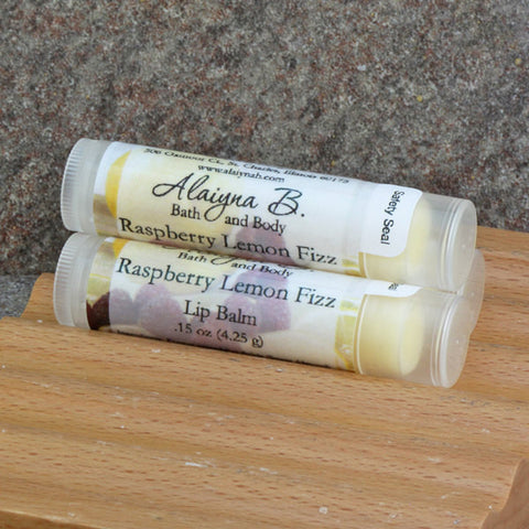 Raspberry Lemon Fizz Flavored Lip Balm