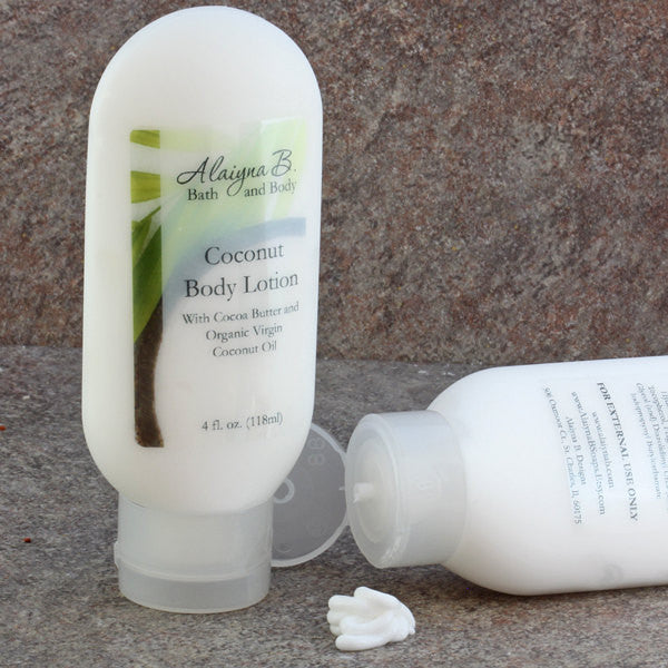 Coconut Scented Hand and Body Lotion - 4 oz