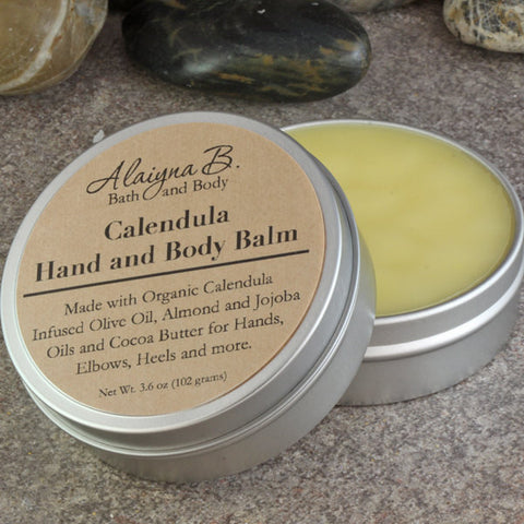 Calendula Herbal Hand and Body Balm - New Larger Size