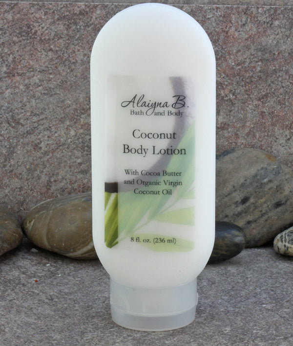 Coconut Scented Hand and Body Lotion - 8 oz