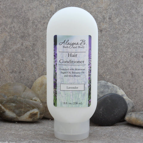 Lavender Scented Liquid Hair Conditioner with Argan Oil and Shea Butter - 8 oz