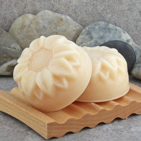 Lemongrass Solid Hair Conditioner Bar with Argan OIl, Jojoba Oil and Shea Butters - For Oily Hair