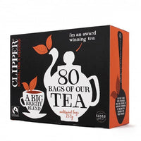 Clipper Tea - Bright Blend Tea - Box 250g (80 bags)