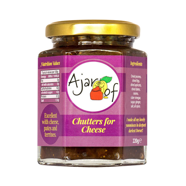 Ajar Of | Chutters for Cheese | Jar 220g