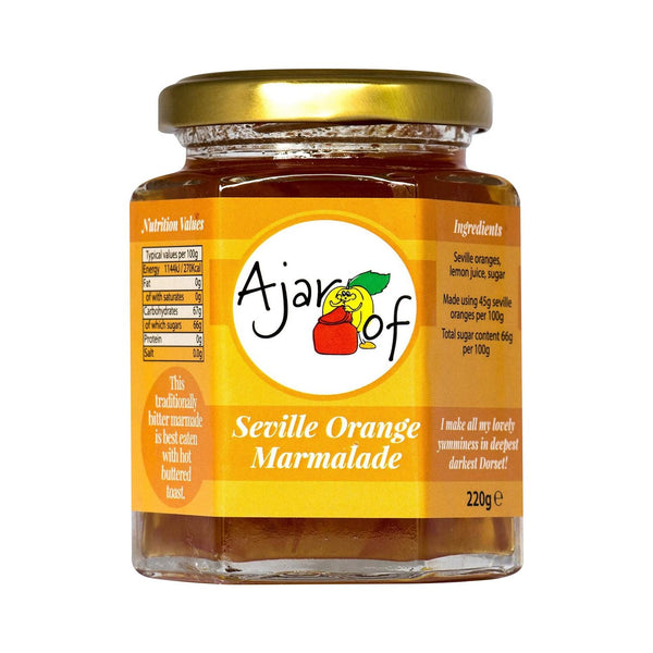 Ajar Of | Seville Orange Marmalade | Jar 220g