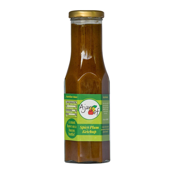 Ajar Of | Spicy Plum Ketchup | Bottle 250ml