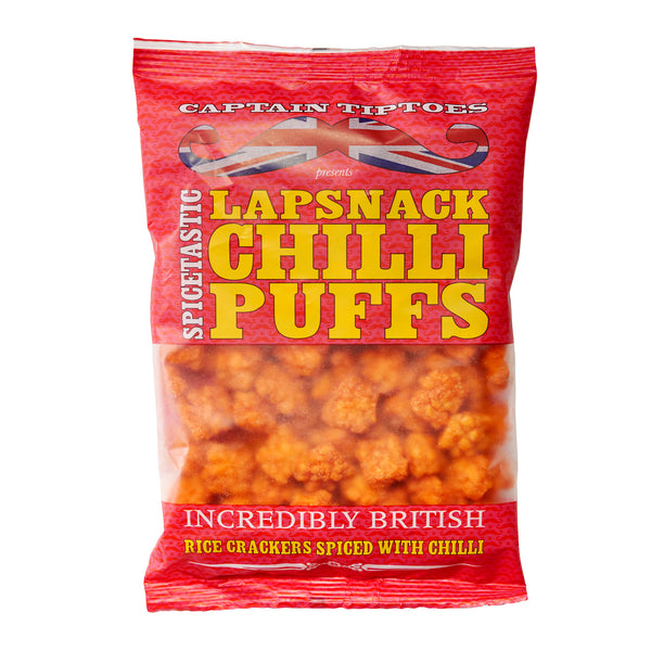 LapSnack Chilli Puffs – Bag 151g