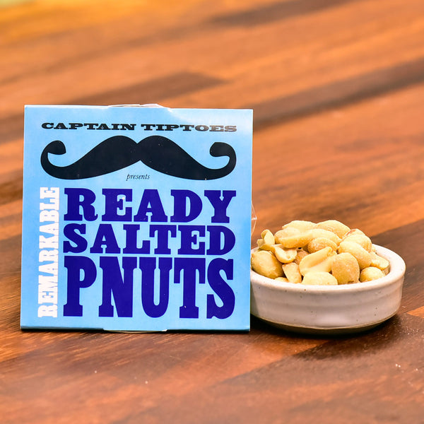 Remarkable Ready Salted PNUTS – Sleeved Tub 51g
