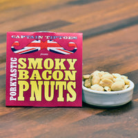 Porktastic Smoky Bacon PNUTS – Sleeved Tub 51g