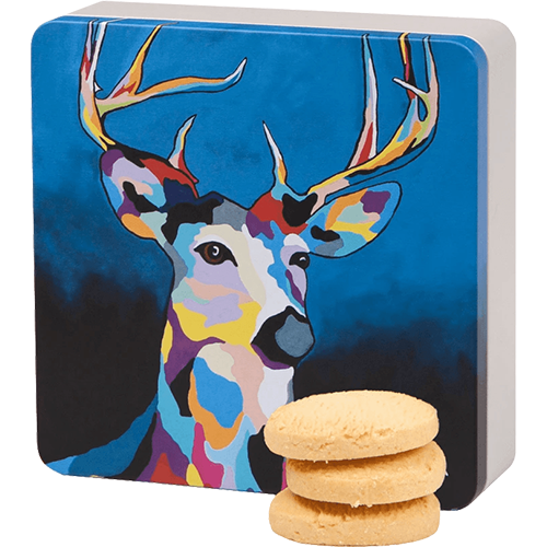 Glen McDeer All Butter Shortbread Rounds Tin - 160G