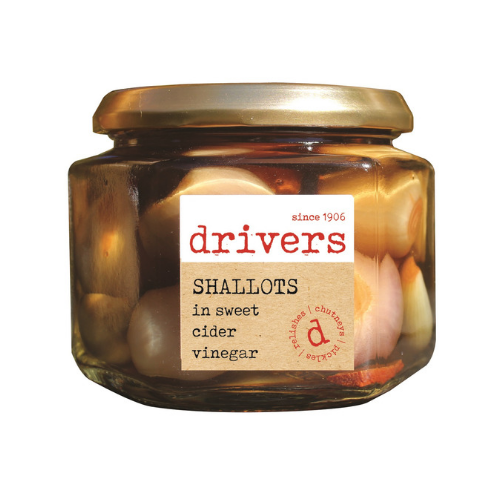 Drivers Shallots In Sweet Cider Vinegar - 350g
