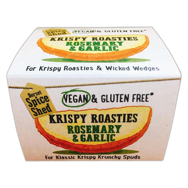 Dorset Spice Shed - Krispy Roasties Rosemary & Garlic - Tub 70g