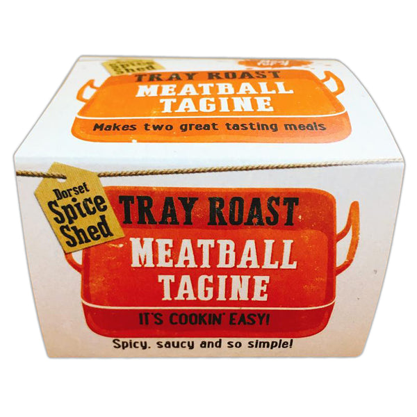 Dorset Spice Shed - Tray Roast Meatball Tagine - Tub 36g
