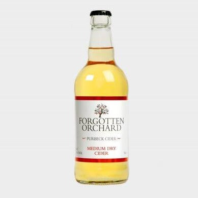 Forgotten Orchard - Medium Dry Cider - Bottle 500ml