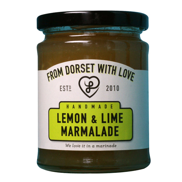 From Dorset with Love - Lemon & Lime Marmalade - Jar 340g
