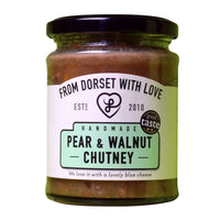 From Dorset with Love - Pear & Walnut Chutney - Jar 300g