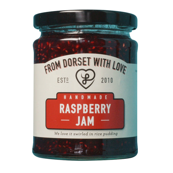 From Dorset with Love - Raspberry Jam - Jar 340g