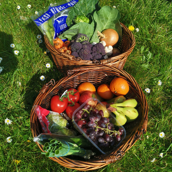 Large Fruit, Salad & Vegetable Box for Home delivery