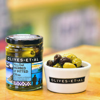 Very Deli Herbed & Pitted Olives – Jar 250g