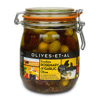Kilner REFILL - Sunshine Rosemary & Garlic Olives – 800g