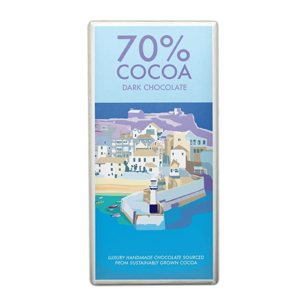 Kernow - 70% Cocoa Dark Chocolate - Bar 100g