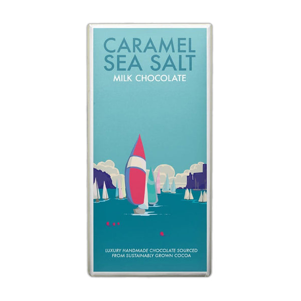 Kernow - Caramel Sea Salt Milk Chocolate - Bar 100g