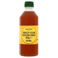 Squeezy Clear Blossom Honey - Bottle 680g