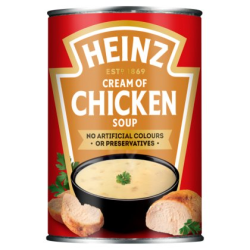 Heinz Cream of Chicken Soup - Tin 400g