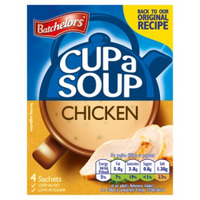 Batchelors Cup-a-Soup - Chicken - 20 Sachets