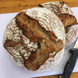 Bread - Fresh Dorset Wholemeal Sourdough - approx 930g - Baked Daily