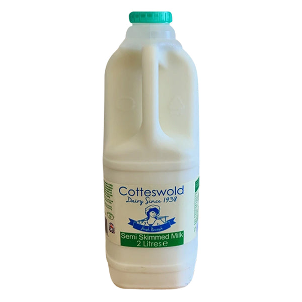 Milk - Semi-Skimmed - Bottle 2 Litre