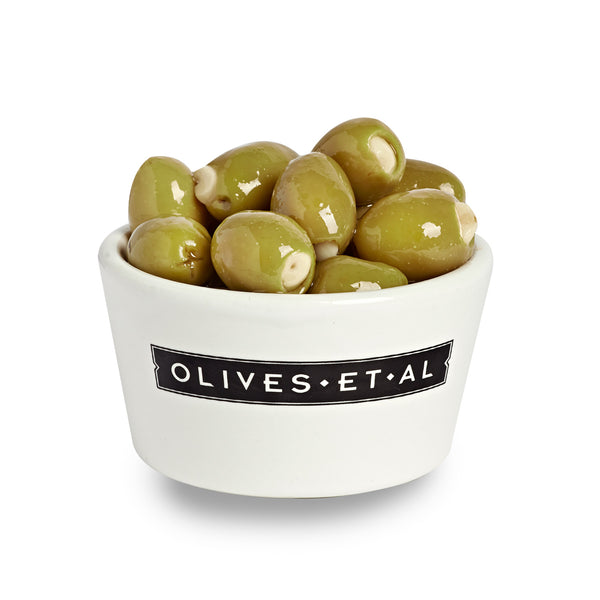Boxed Olives - Garlic Stuffed - 2.5kg