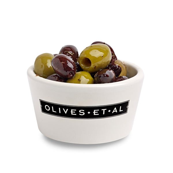 Boxed Olives - Pitted Chilli & Garlic - 2.5kg