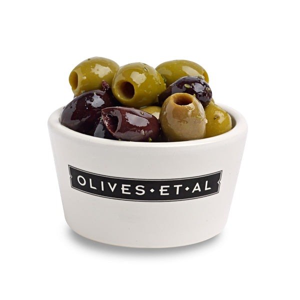 Boxed Olives - Pitted Rosemary & Garlic - 2.5kg