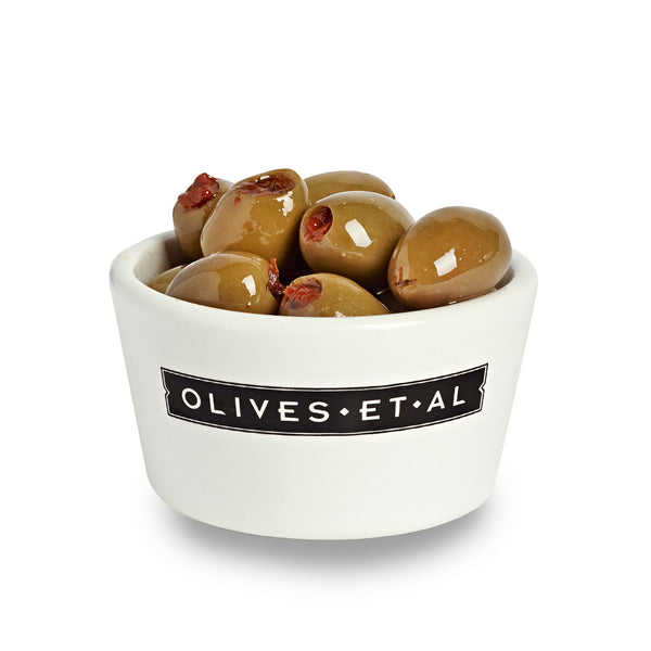 Boxed Olives - Sun Dried Tomato Stuffed - 2kg